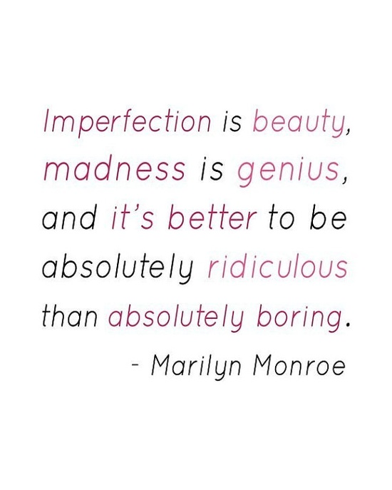 Short Marilyn Monroe Quotes: Do You Suffer From The Perfection Trap?